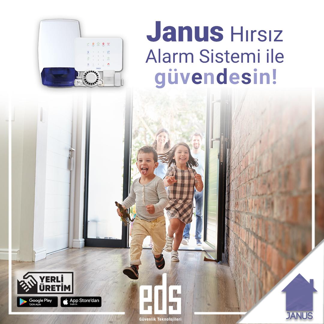 Janus Hırsız Alarm Sistemi ile Güvendesin!