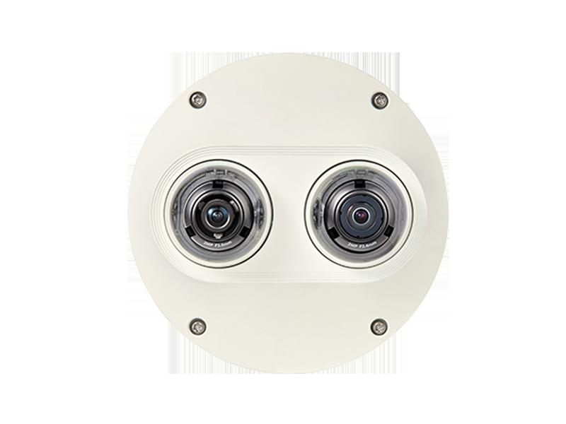 4M 2X2MP Multi-Sensör Vandal Dome Kamera