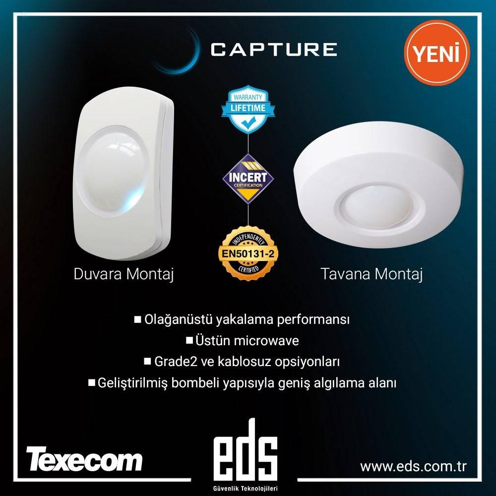 Yeni Ürün Texecom Capture PIR Dedektörleri