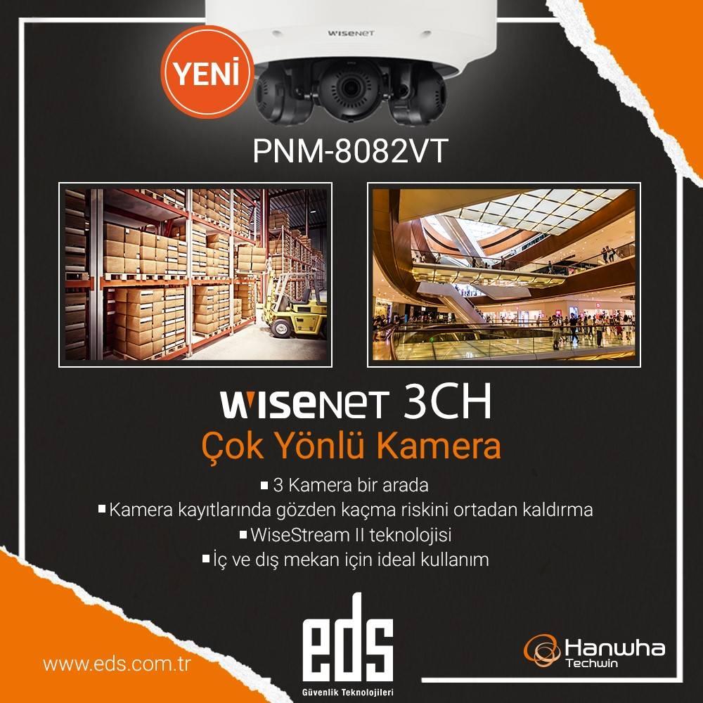 Yeni Ürün WISENET 3CH Çok Yönlü Kamera